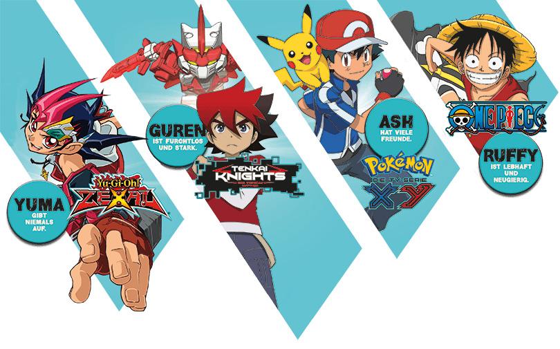Der große YEP!-Heldentest - Anime-Extras und Gewinnspiel auf der YEP!