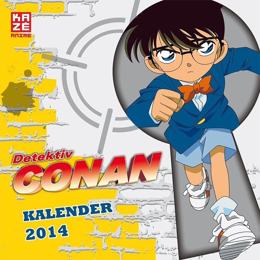Detektiv Conan Wandkalender 2014
