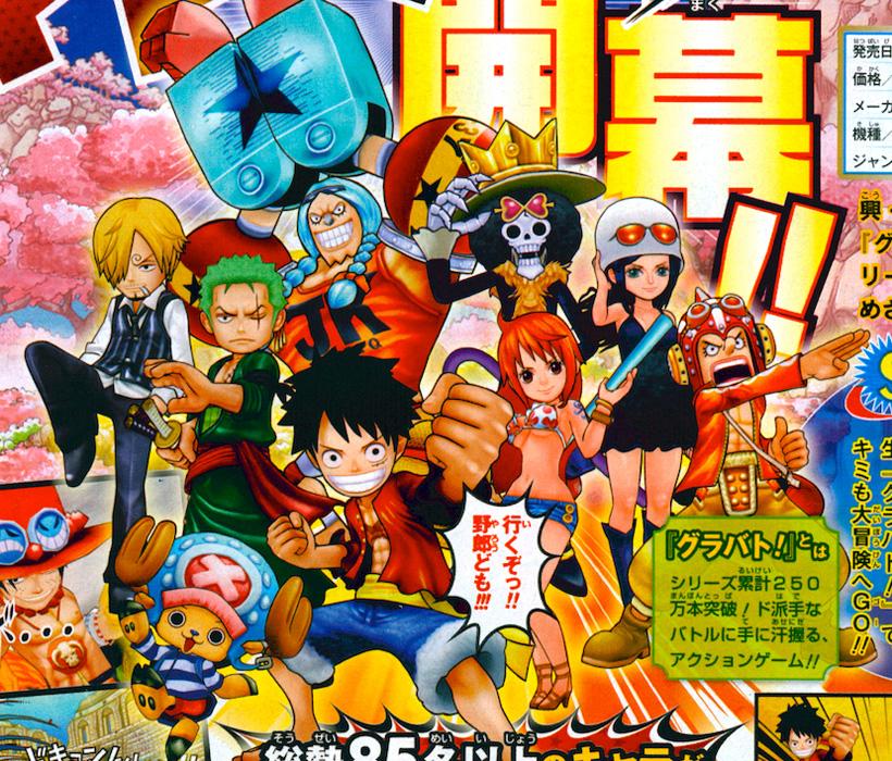 Das nächste One Piece Spiel wird ein neues Grand Battle für den Nint