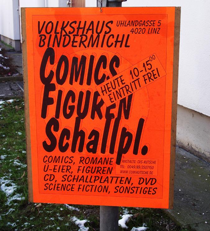 37. Comicbörse in Linz. Ein Ort für Sammler und Schnäppchenjäger