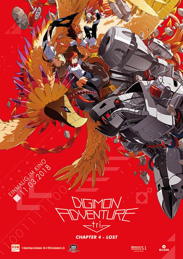 Digimon Adventure tri. Chapter 4: Lost - Neben einem DVD sowie Blu-ray