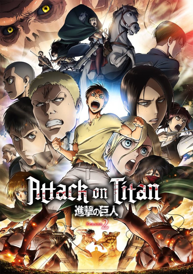 Die gefürchteten Titan schlagen wieder zu - Die 2. Staffel zu Attack
