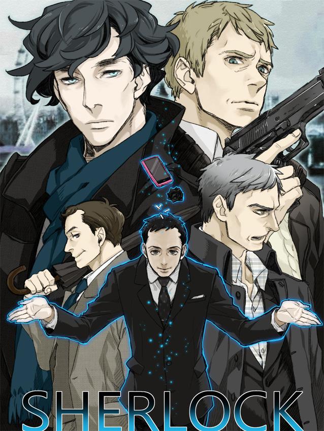 Der Manga zur TV-Serie Sherlock geht im Dezember 2013 in Japan weiter