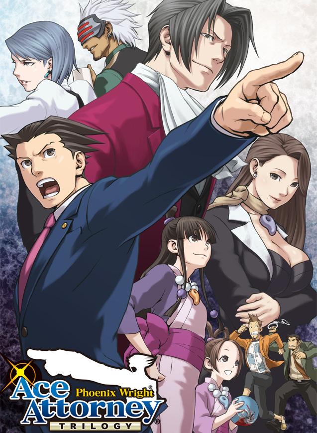 Phoenix Wright: Ace Attorney Trilogy für den 3DS erscheint am 11. Dez