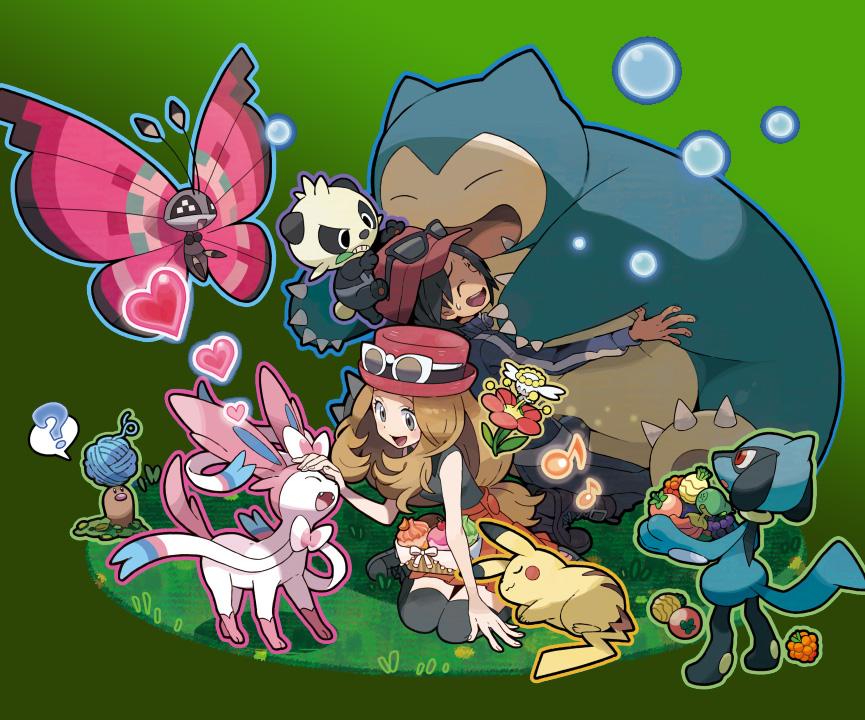Pokémon gibt weitere Einzelheiten zur Kalos-Region bekannt und stellt