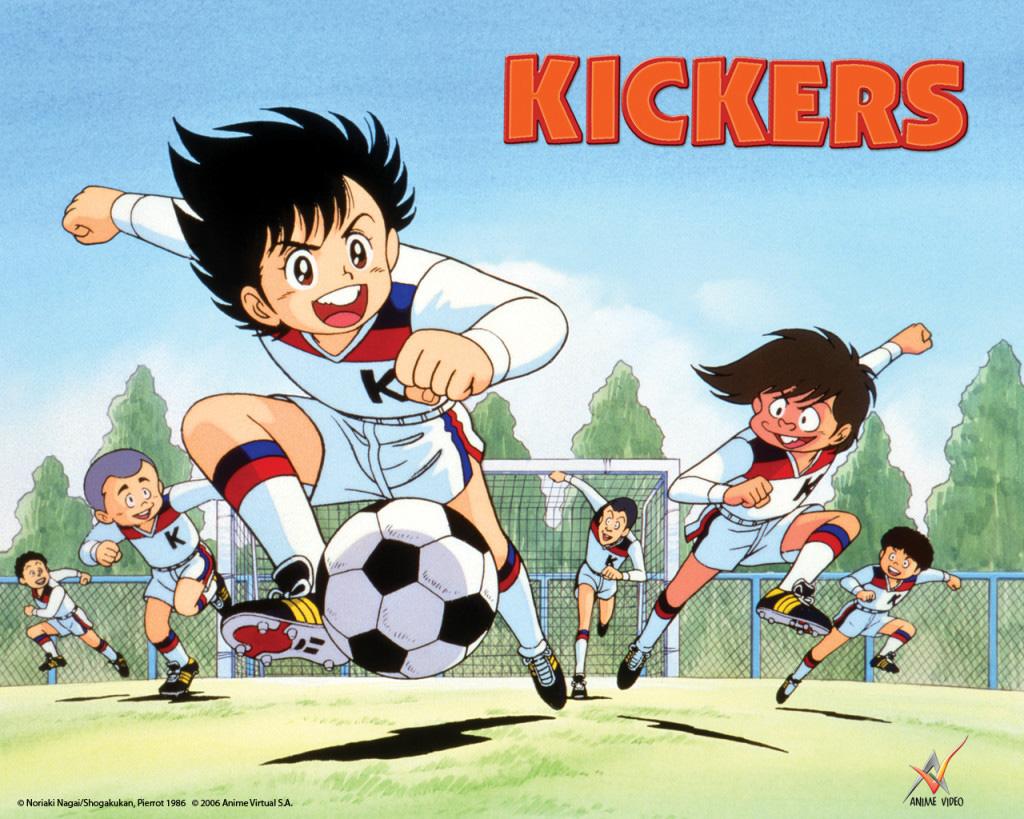 Die Anime TV-Serie Kickers feiert sein Comeback auf Blu-ray