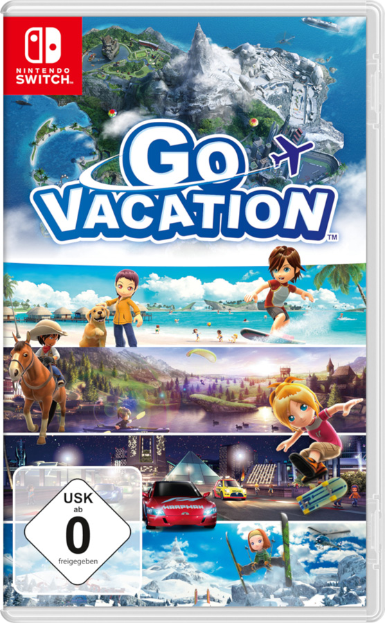 GO VACATION für die Nintendo Switch