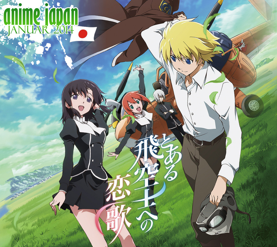 Januar 2014: Anime Neuerscheinungen aus Japan