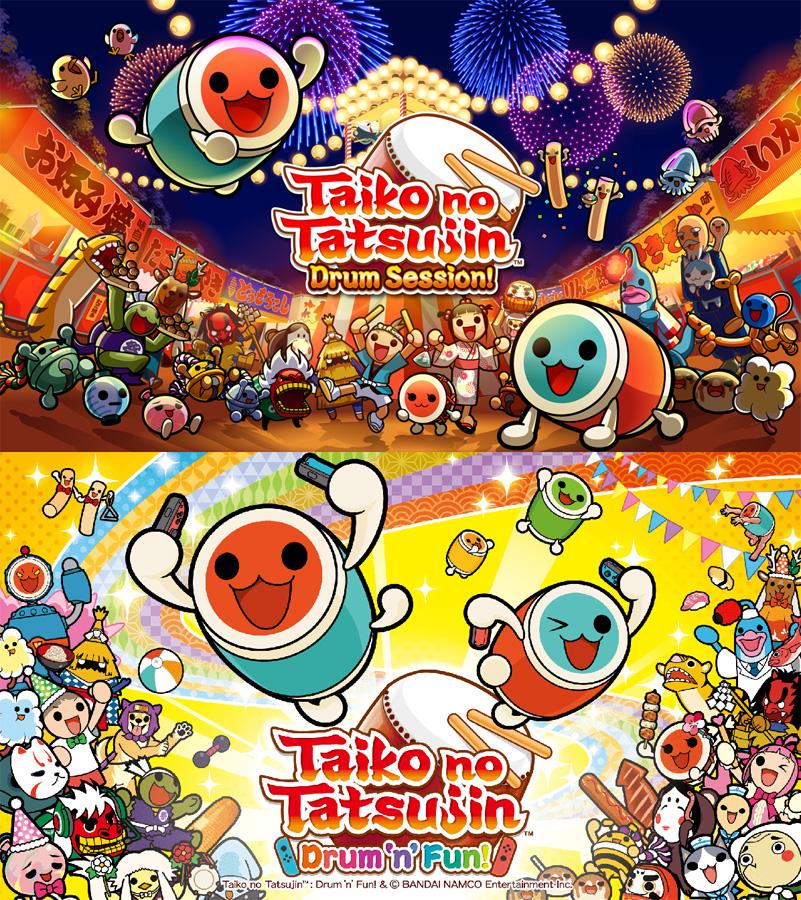 Das beliebte japanische Rhythmus-Spiel Taiko no Tatsujin kommt erstmal