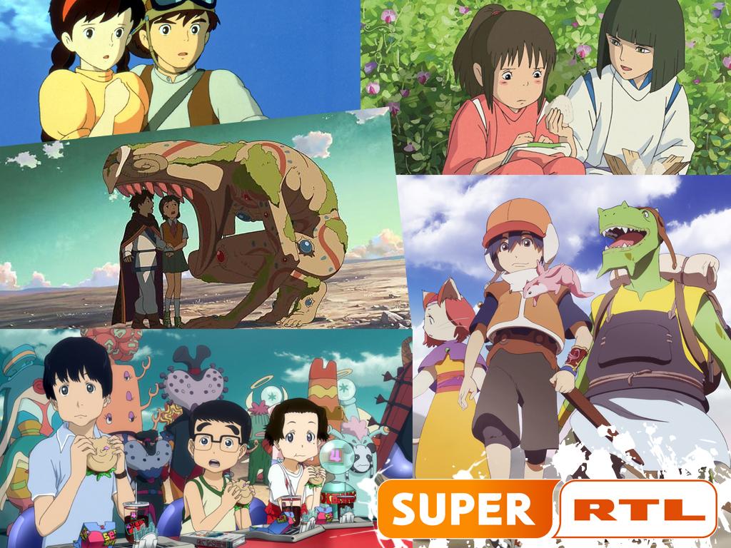 Super RTL TV-Programm für Mai 2014: Es kommen Anime Filme von Studio
