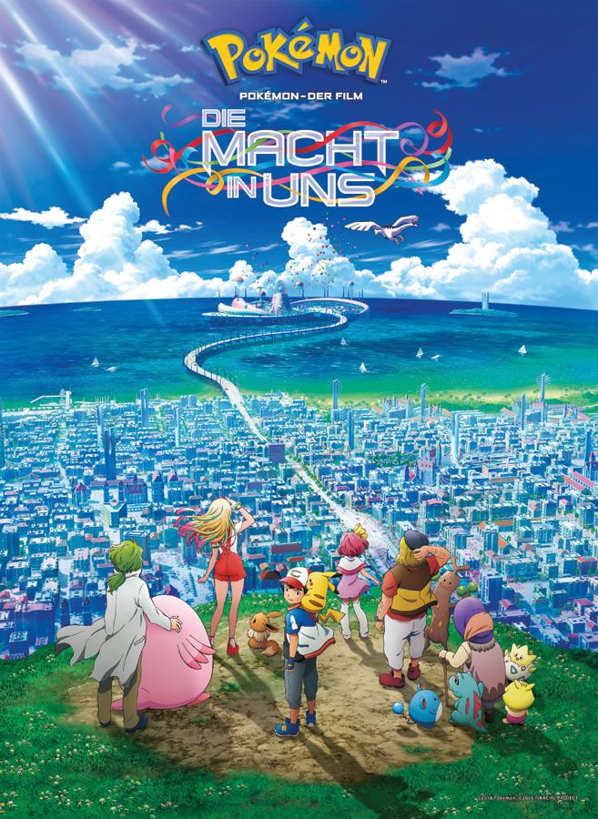 Ash und Pikachu auf neuen Abenteuern in Pokémon - Der Film: Die Macht