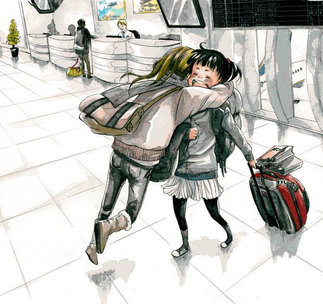 Deutsche Manga-Zeichnerin Carolin Eckhardt ist in Japan und unter den