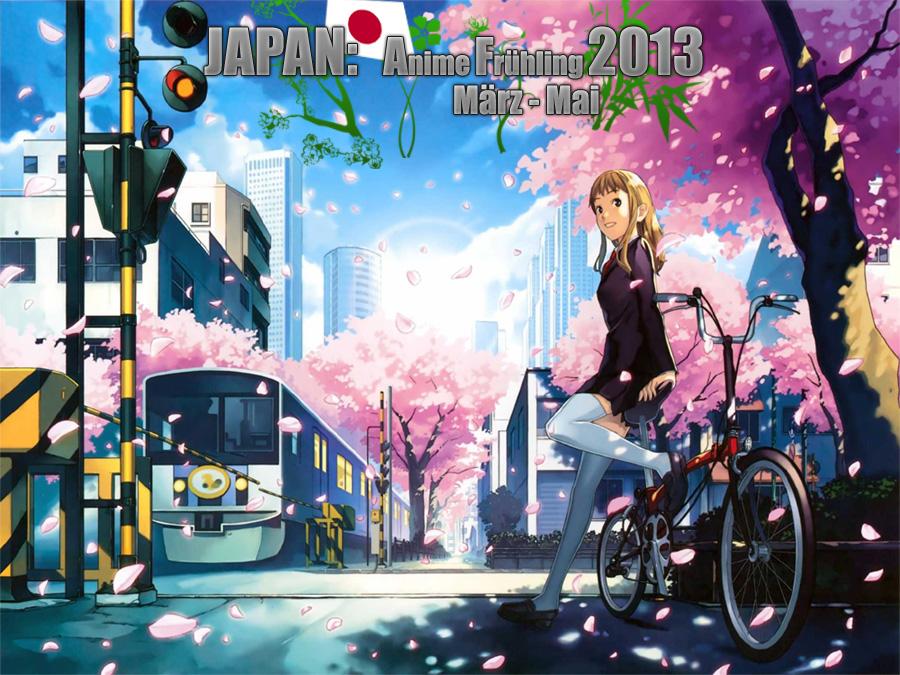 Japan: Anime Starts im Frühling 2013 vom Monat März bis Mai! *Update