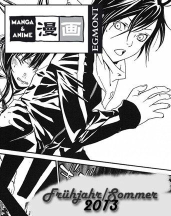 EMA - Das Manga Programm für Frühjahr/Sommer 2013