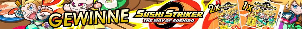 Gewinnspiel: Sushi, Sashimi oder Maki!? Gewinne mit etwas Glück Sushi Striker: The Way of Sushido für die Nintendo Switch oder die Konsolen der Nintendo 3DS-Familie