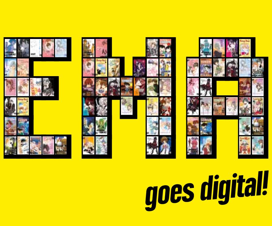 EMA goes digital: E-Books zu bekannten Manga Titeln und der Start eine