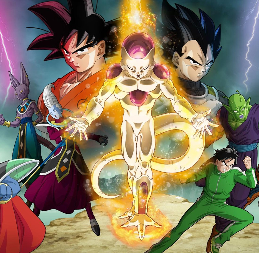 Dragon Ball Z: Resurrection F DVD/Blu-ray am 20. Oktober 2015 in den U