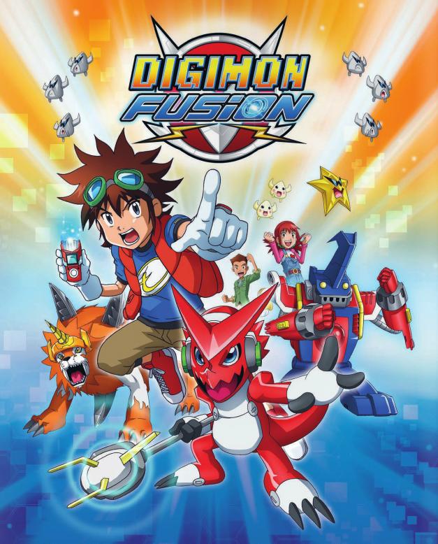 Die 6. Digimon-Serie läuft noch heuer im deutschsprachigen Raum. Aus