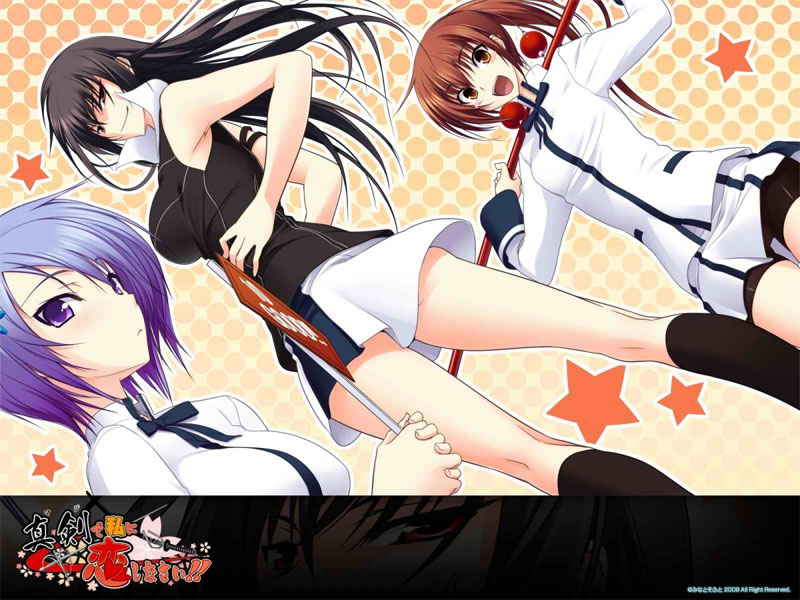 Eroge-Game Maji de Watashi ni Koi Shinasai! bald als Anime TV-Serie