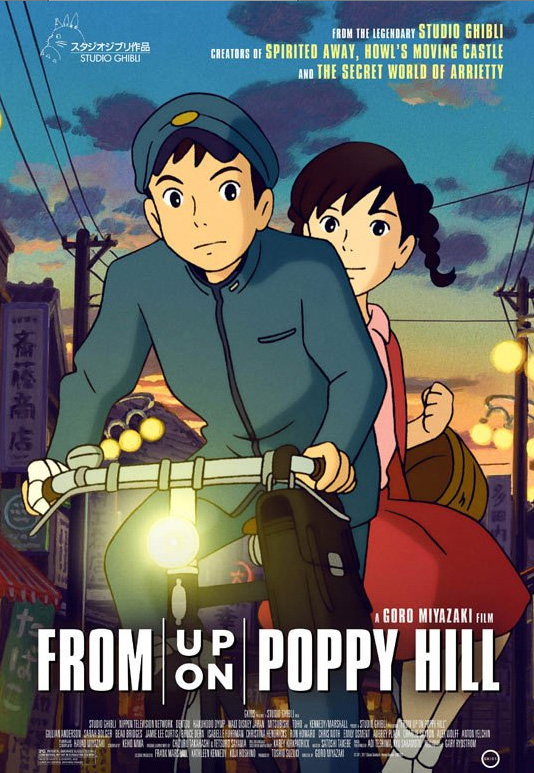 From Up on Poppy Hill vom Studio Ghibli noch heuer in den deutschen Ki