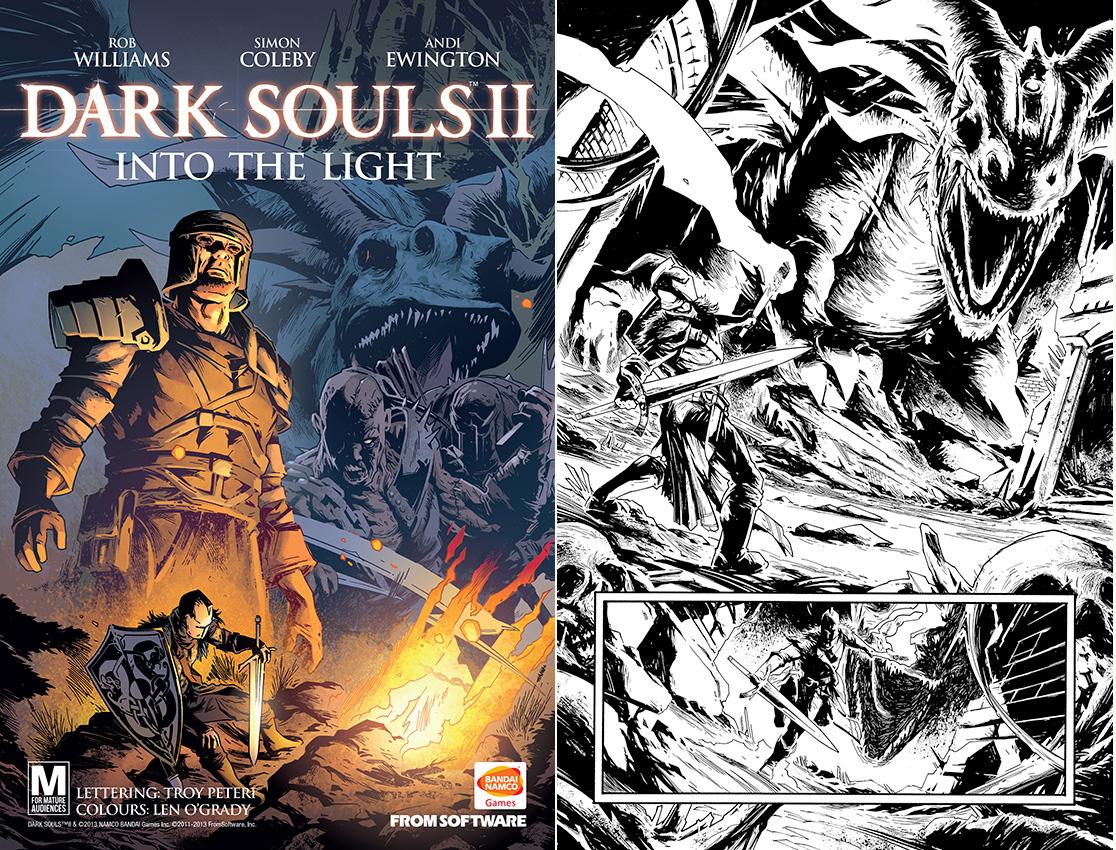 Namco Bandai Games kündigt ein Comic zu Dark Souls II an *Update*