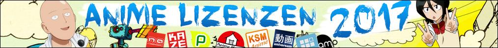 Deutsche Anime Lizenzen 2017