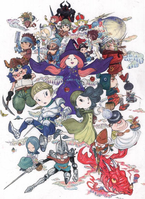 Das Rollenspiel Fantasy Life von Level 5 kommt Ende September nach Eur