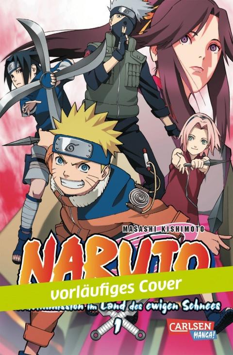Naruto Anime Comic - Geheimmission im Land des ewigen Schnees