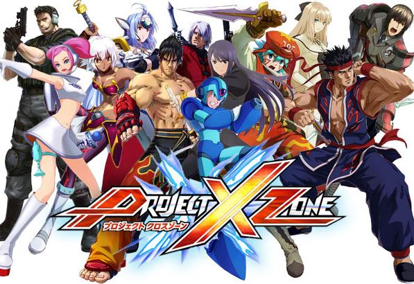 Für den Nintendo 3DS kommt Project X Zone von Sega, Capcom und Namco