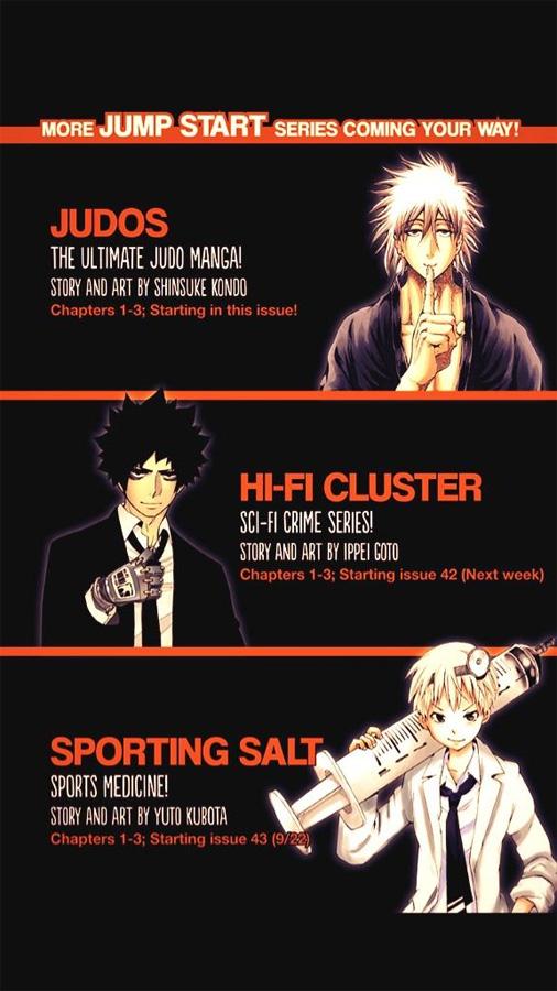 Judos, Hi-fi Cluster und Sporting Salt