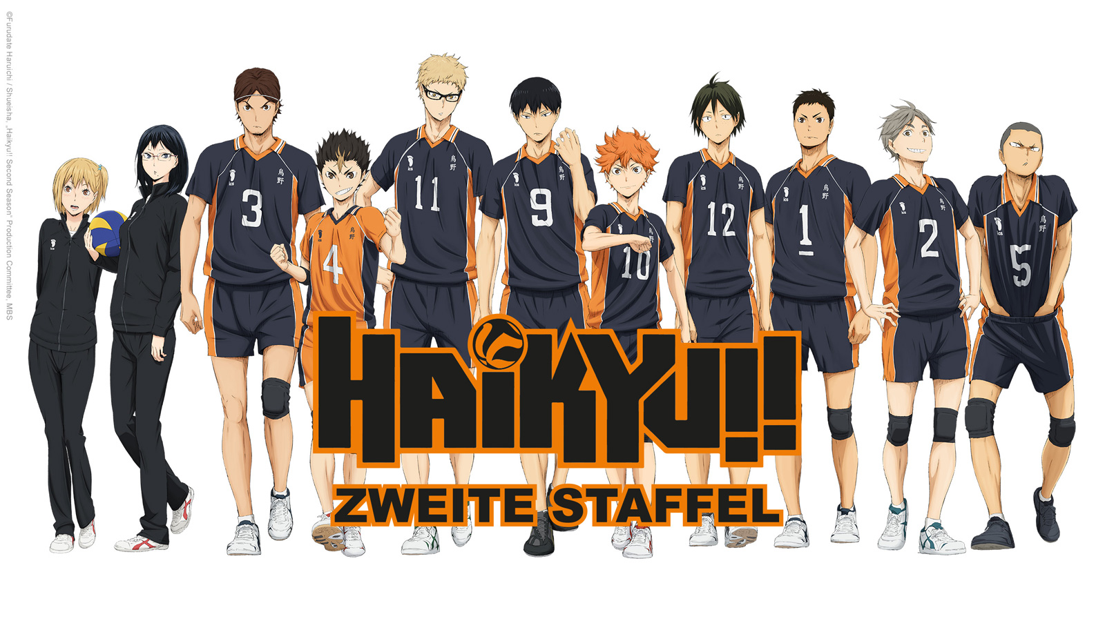 ANIMAX zeigt die 2. Staffel der Hit-Serie Haikyu!! Volume 1 - Episode
