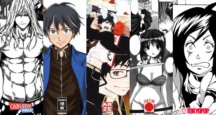März 2014: Manga Monatsübersicht