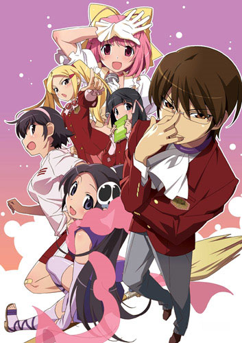 Zweite Staffel zu Kami nomi zo Shiru Sekai (The World God Only Knows)