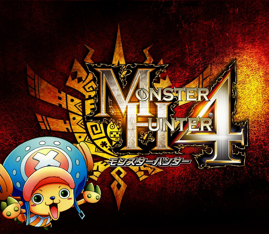 Monster Hunter 4 meets Chopper von One Piece *Update*