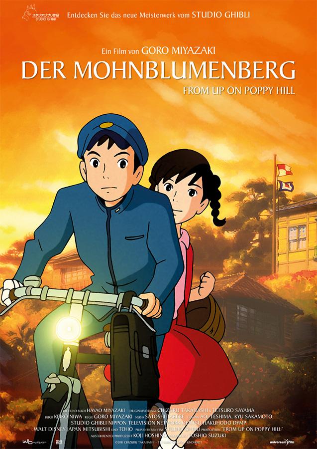 Film  Der Mohnblumenberg (From Up on Poppy Hill) erscheint am 2. Mai 2