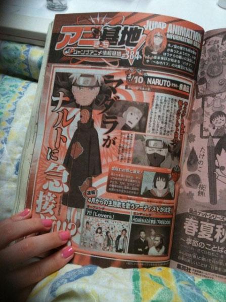 Neues Opening/Ending für Naruto Shippuuden *Update*