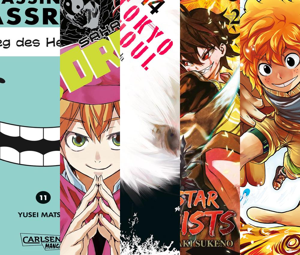 Neue Manga Hits im Juli 2016 von Carlsen Manga!, Egmont Manga, Kazé M