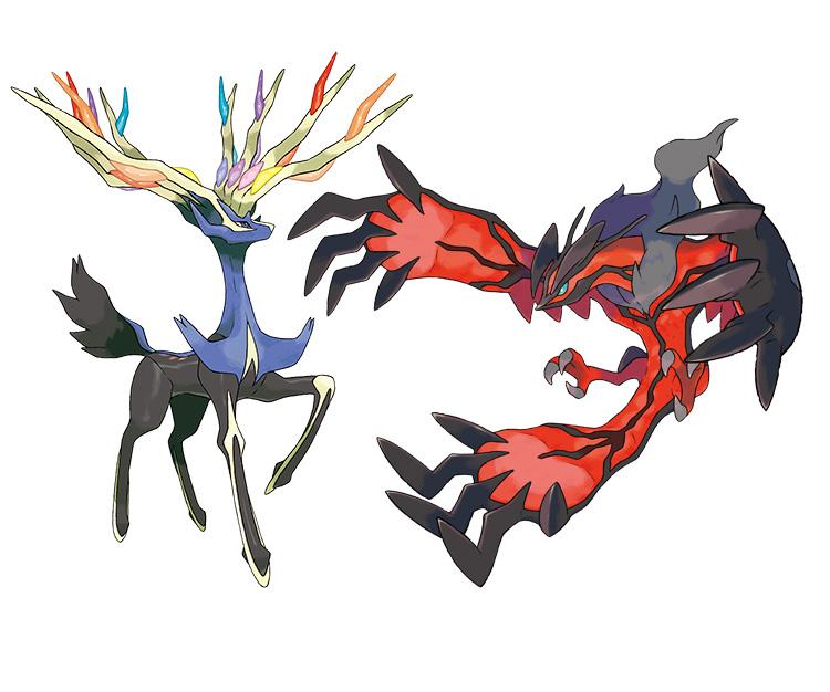 Die Typen der neuen legendären Pokémon in X und Y wurden bekannt geg