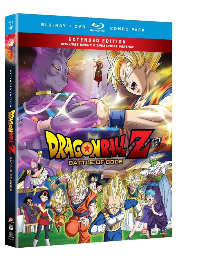 Dragon Ball Z: Battle of Gods Blu-ray