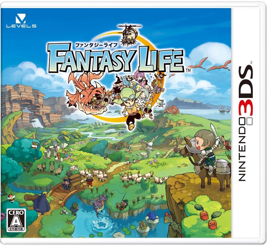 Das Level-5 Rollenspiel Fantasy Life kommt nach Europa