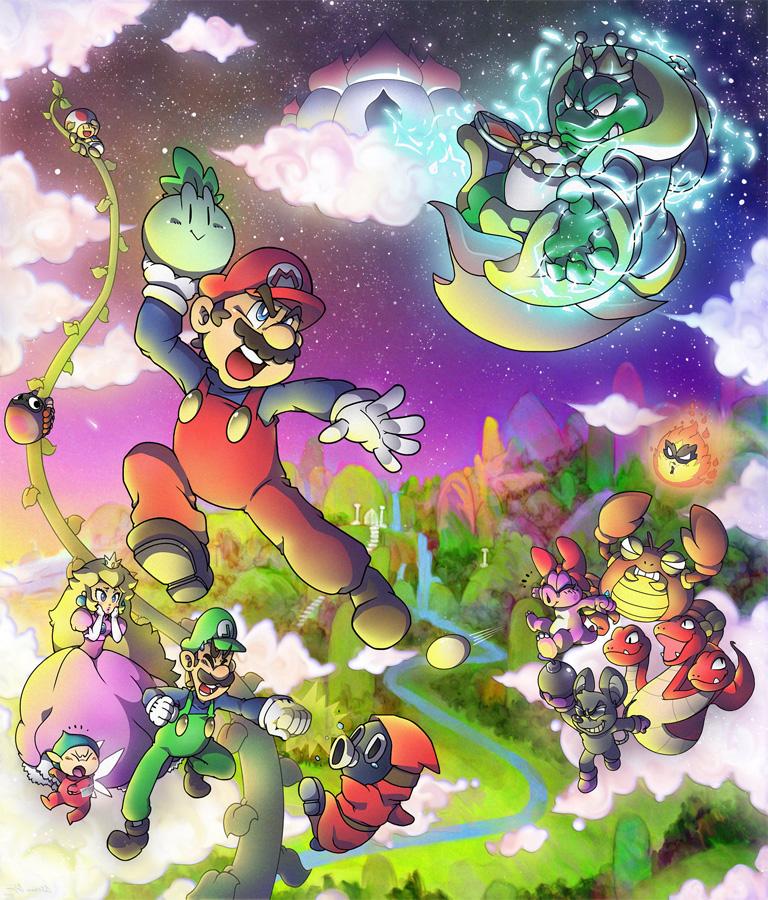 Erwartet uns in den nächsten Jahren ein erster Super Mario Bros. Anim