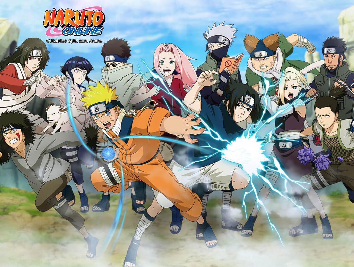 Naruto Online: DAS MMORPG zur beliebten Anime-Marke startet in die Ope