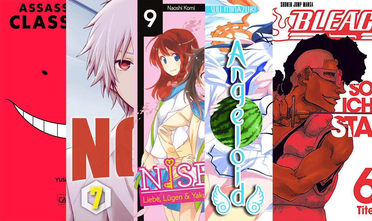 Oktober 2015: Manga Monatsübersicht