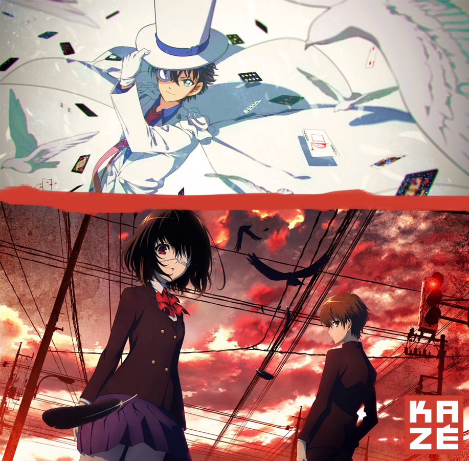 Magic Kaito und Another im Anime Programm bei Kazé