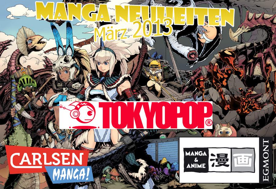 März 2013: Neue Manga-Serien von Carlsen, Tokyopop und EMA