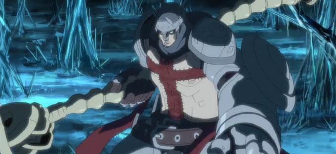Dante's Inferno als Anime-Umsetzung
