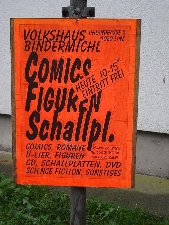 38. Comicbörse in Linz. Ein Ort für Sammler und Schnäppchenjäger
