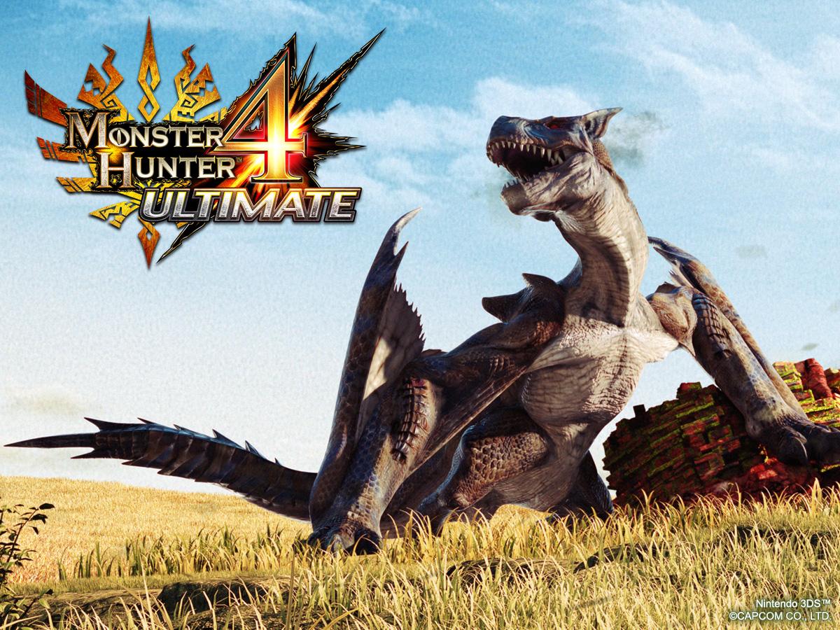 Monster Hunter 4 Ultimate für den Nintendo 3DS kommt Anfang 2015 nach