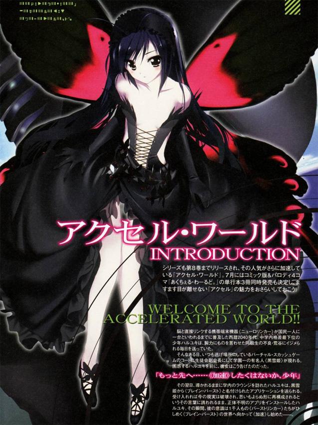 Zur ScFi-Serie Accel World wurde der Manga und die Light Novel von Tok