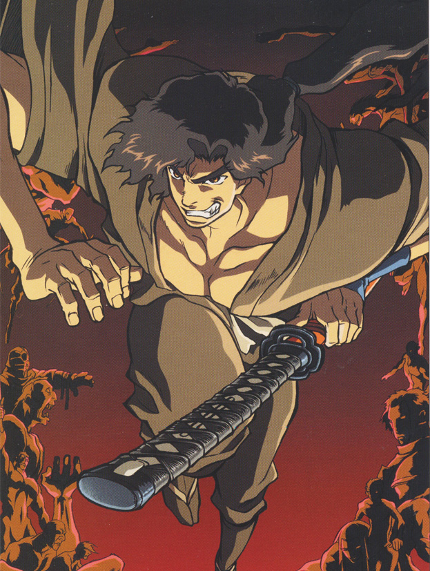 Neues zum Projekt Ninja Scroll von Madhouse: Arbeitstitel Ninja Scroll